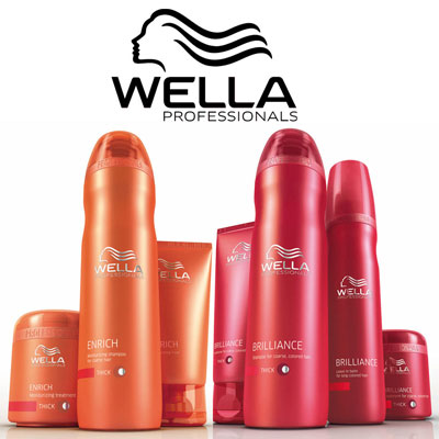 Wella Professionals product line used and sold by Evolve Salon & Spa