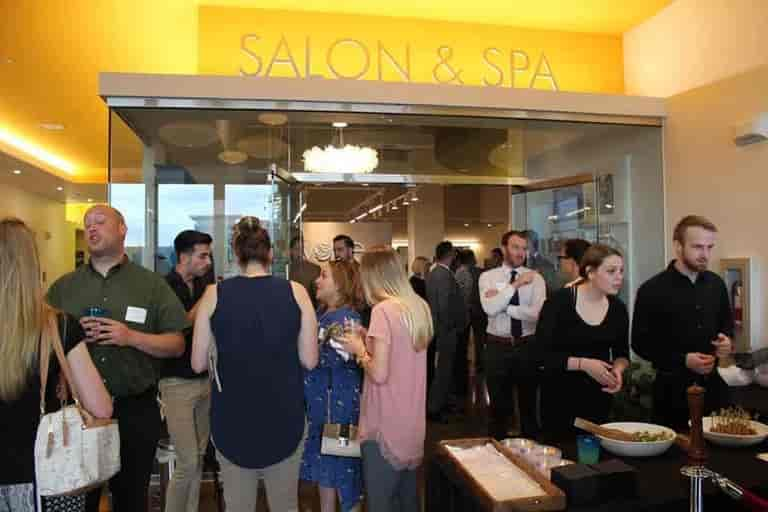 Evolve Salon & Spa Networking Event held in conjunction with The Fitness Equation and Loudoun County Chamber of Commerce
